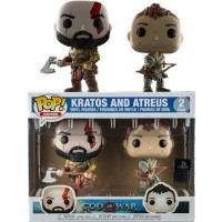 Kratos Armored and Atreus 2-pack