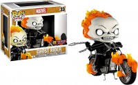 Funko Marvel Ghost Rider Funko POP Rides Ghost Rider with Bike Exclusive
