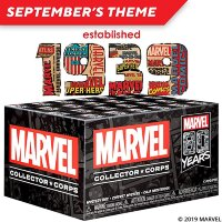Funko Marvel Collector Corps Box 80 years of Marvel comics(S)