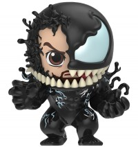 "Venom - Venom & Eddie Brock Cosbaby 3.75"" Hot Toys Bobble-Head Figure"