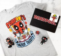 Funko Marvel Collector Corps Box: Marvel Deadpool 30th - March 2021(L/M)
