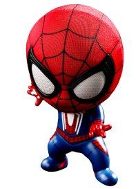 "Marvel's Spider-Man (2018) - Spider-Man Cosbaby 3.75"" Hot Toys Bobble-Head Figure"