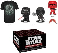 Funko Star Wars Smuggler's Bounty Subscription Box, Forces of Darkness, October 2019(M/L)