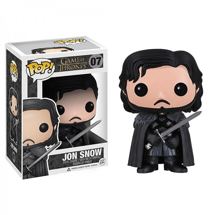Купить Фигурка Funko POP! Game of Thrones #07 Jon Snow (Джон Сноу)