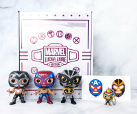 Funko Marvel Collector Corps Box: Marvel Luchadores January 2021