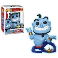 Funko Pop Aladdin - Genie with Lamp Glow in the Dark Pop! Vinyl Figure